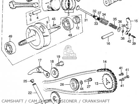 Honda Atc70 No Year Specified Usa parts list partsmanual
