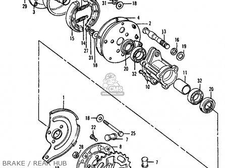 Honda ATC90 1976 USA parts lists and schematics