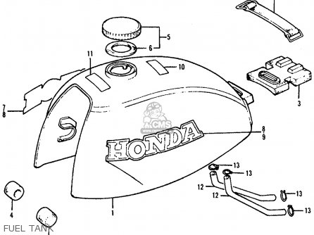 Honda Atc90 1977 Usa parts list partsmanual partsfiche