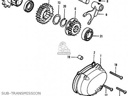 Honda Atc90 1978 Atc90k3 Usa parts list partsmanual partsfiche