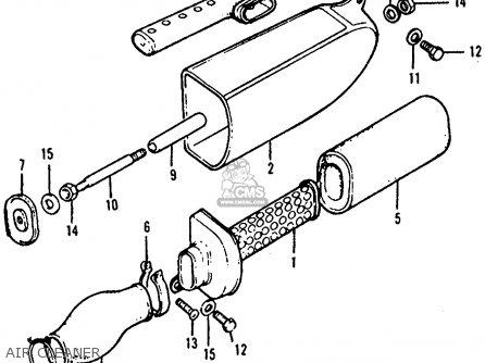 Honda ATC90 1978 USA parts lists and schematics