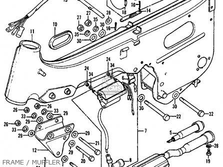 Honda Atc90 1978 Usa parts list partsmanual partsfiche