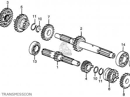 Honda Atc90 K1 Usa parts list partsmanual partsfiche