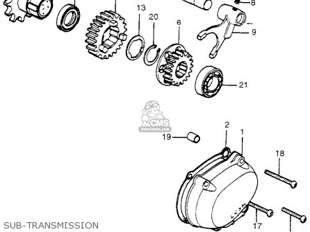 Honda ATC90 K2 1974 USA parts lists and schematics