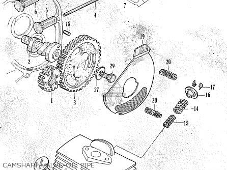 Honda C100 GENERAL EXPORT parts lists and schematics