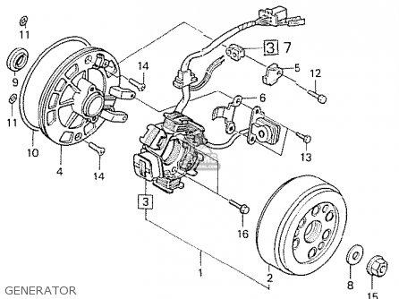 Honda C100k2 Astrea parts list partsmanual partsfiche