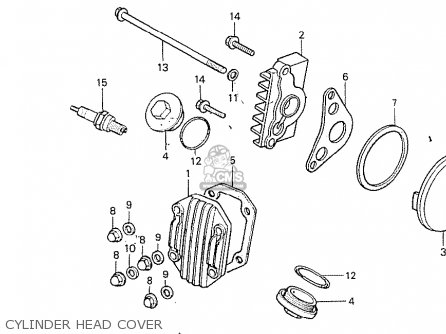 Honda C100k2 Astrea Indonesia parts list partsmanual
