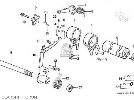 Honda C100M2 ASTREA INDONESIA parts lists and schematics
