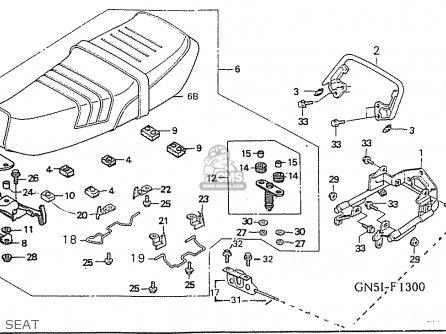 Honda C100m2 Astrea parts list partsmanual partsfiche