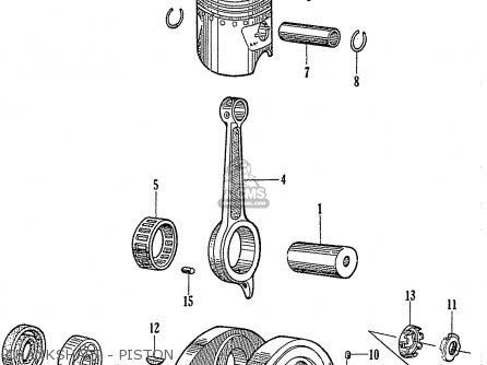 Scooter Wiring Diagrams 1964 Honda C110. Honda. Auto