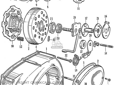 Honda C110 GENERAL EXPORT (140115) parts lists and schematics