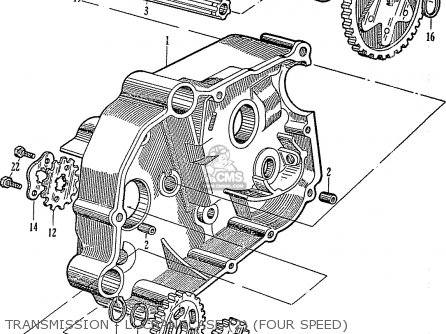 Honda C110 General Export (140115) parts list partsmanual