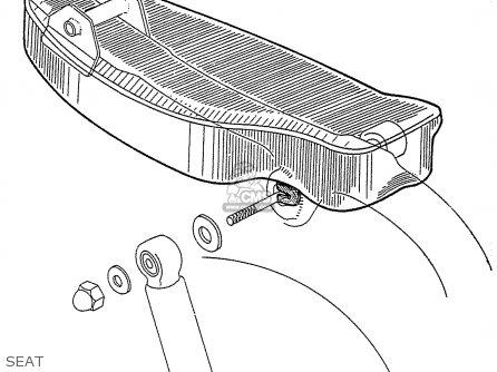 Honda C115 parts list partsmanual partsfiche