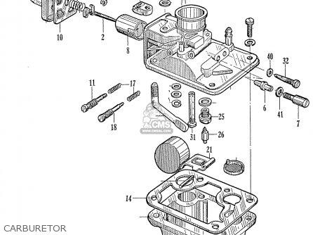 Honda C310a General Export parts list partsmanual partsfiche