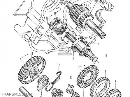 Honda C310s France parts list partsmanual partsfiche