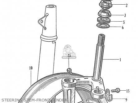 Honda C320a parts list partsmanual partsfiche