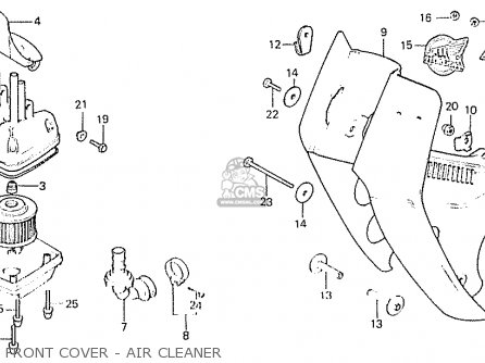 Honda C50 1982 (c) England parts list partsmanual partsfiche