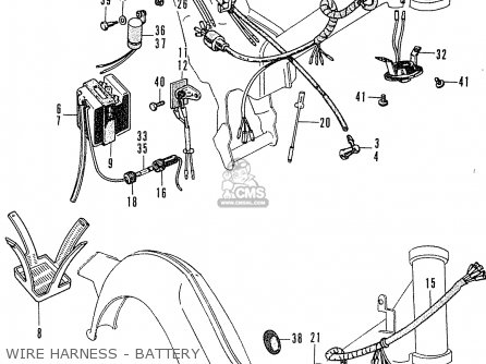 Honda C50 Cub 1969 England parts list partsmanual partsfiche