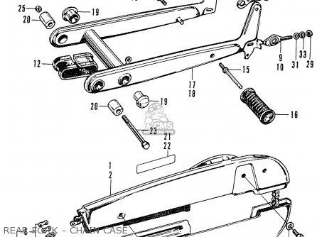 Honda C50 CUB 1969 FRANCE parts lists and schematics