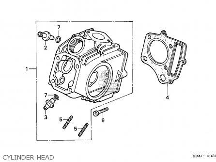 Honda Cub 50 Carburetor Diagram, Honda, Free Engine Image