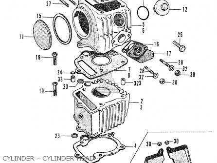 Honda C50 (england) parts list partsmanual partsfiche