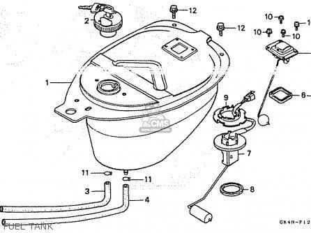 Honda C50cm 1997 (v) Japan parts list partsmanual partsfiche