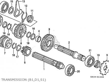 Honda C50cm 1997 (v) Japan parts list partsmanual partsfiche