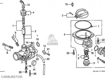 Honda C50cmv (japan) parts list partsmanual partsfiche
