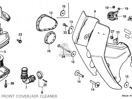 Honda C50d Cub 1985 (f) Vietnam parts list partsmanual