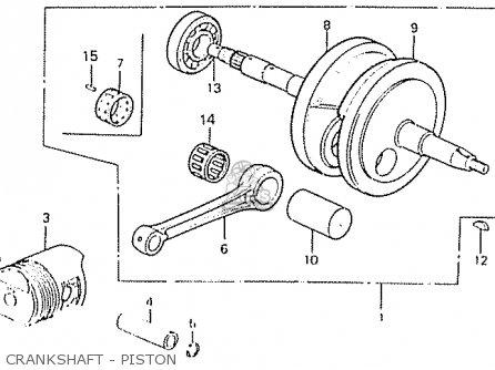 Honda C50la Cub 1982 (c) England parts list partsmanual