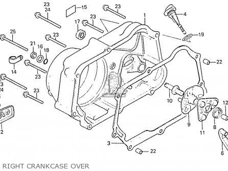 Honda C50LA CUB 1984 (E) ENGLAND parts lists and schematics