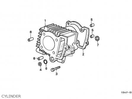 Honda C50S CUB 1993 (P) GREECE / KPH RBM parts lists and