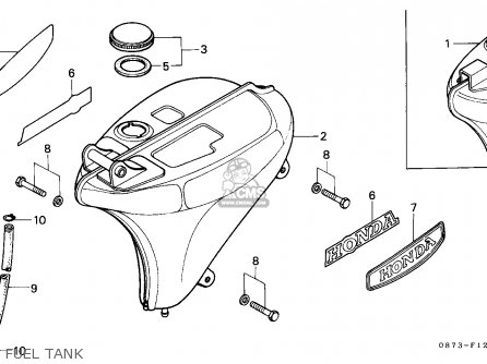 Honda Super Cub Wiring Diagram