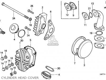 Honda C50z Cub 1977 General Export/ Mph Kph Ss parts list