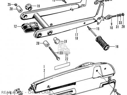 Honda C65m 1976 General Export parts list partsmanual