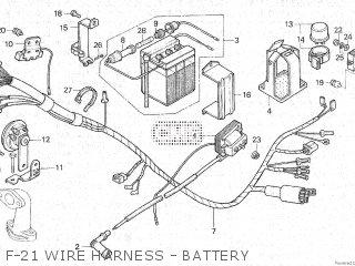 Honda C70 1981 (B) parts lists and schematics