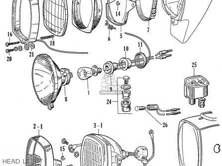 Honda C70 C71 CS71 1958 1959 1960 DREAM GENERAL EXPORT