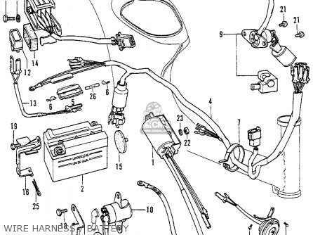 Wiring Diagram Honda Cb550 Cafe Racer, Wiring, Free Engine