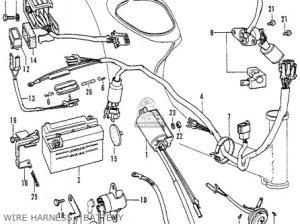 Honda C70 Honda 70 K1 1972 Usa parts list partsmanual partsfiche
