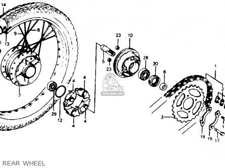 Honda C70 PASSPORT 1980 (A) USA parts lists and schematics