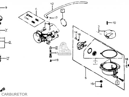 1980 Honda c70 engine diagram
