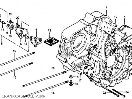 Honda C70 PASSPORT 1981 (B) USA parts lists and schematics
