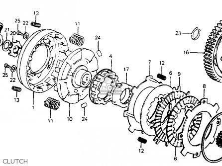 Honda C70 Passport 1981 Usa parts list partsmanual partsfiche