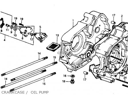 Honda C70 PASSPORT 1982 (C) USA parts lists and schematics