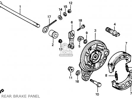 Honda C70 Passport 1983 (d) Usa parts list partsmanual