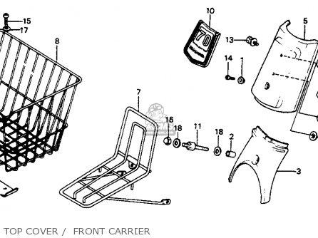 Honda C70 PASSPORT 1983 (D) USA parts lists and schematics