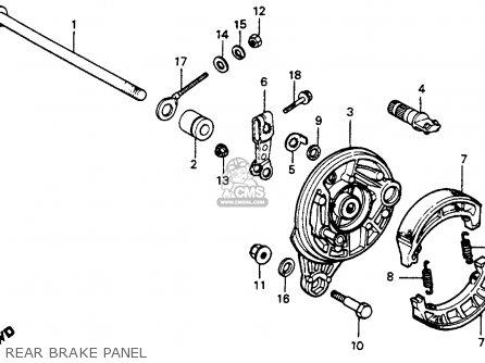 Honda C70 Passport 1983 Usa parts list partsmanual partsfiche