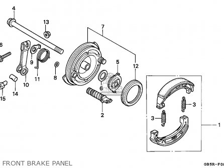 Honda C70CW CUB 1994 (R) SINGAPORE / HSQ parts lists and