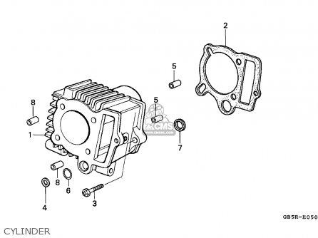 Honda C70cw Cub 1994 (r) / Hsq parts list partsmanual
