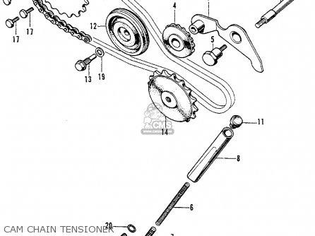Honda C70k1 1972 Usa parts list partsmanual partsfiche